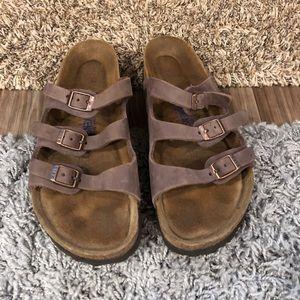 Birkenstock Florida Leather Sandal